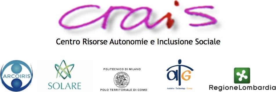 loghi crais centro risorse autonomie e inclusione sociale