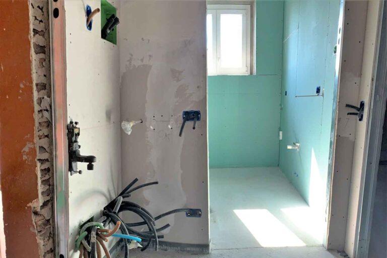 lavori ristrutturazione appartamento Gennaio 2020 ingresso